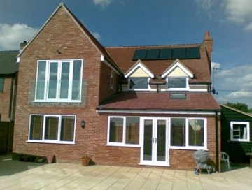 Double Storey Extension in Cannock