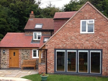 Double Storey Extension in Lichfield