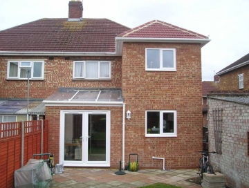 Double Storey Extension in Solihul