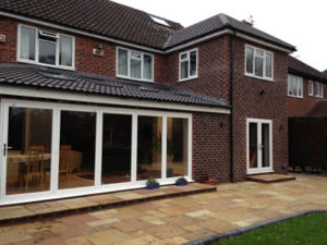 double and single extension in Birmingham