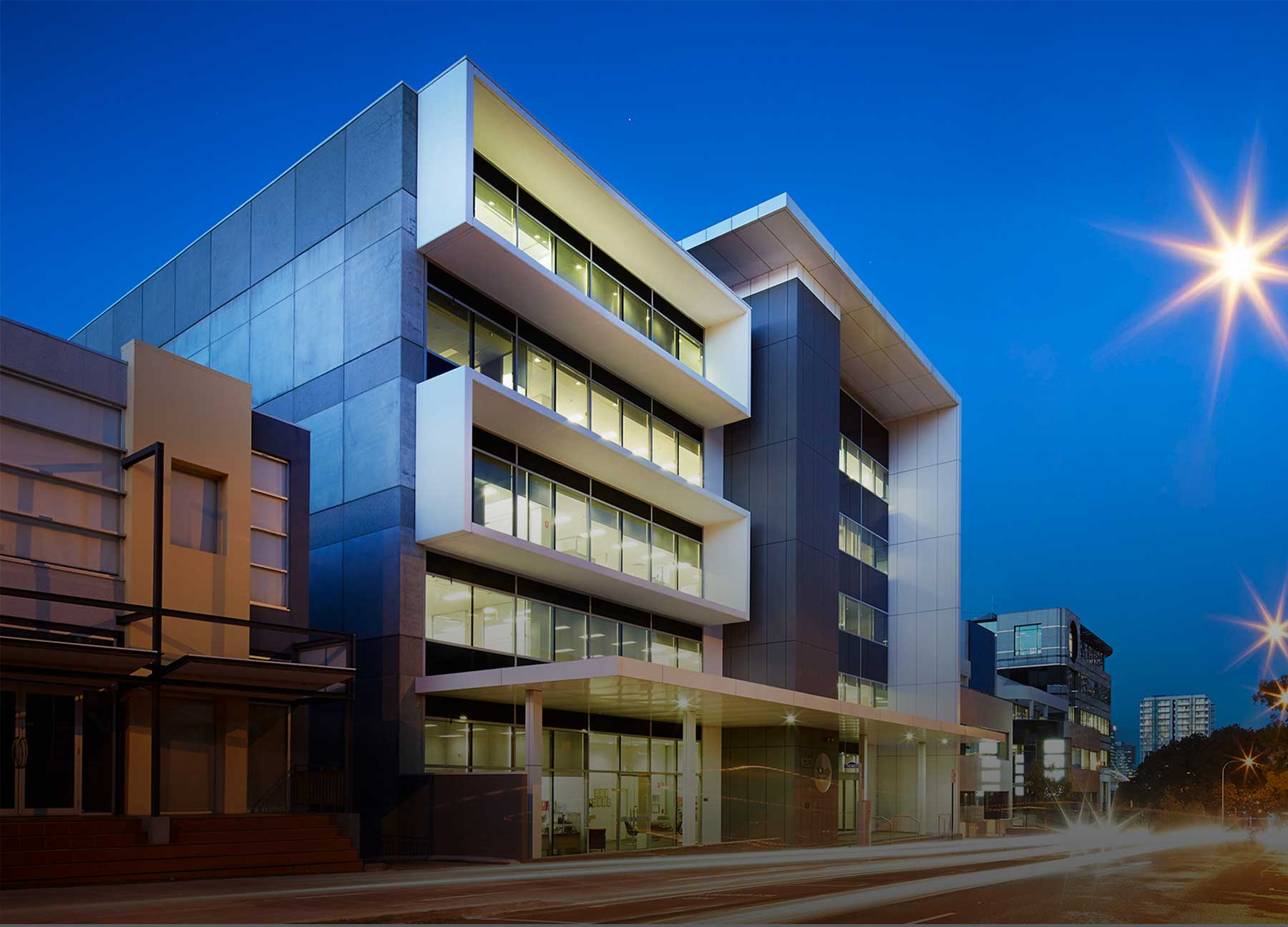 commercial architecture in Birmingham