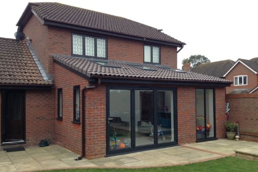 single storey extension design, planning and building regulations in Birmingham
