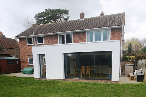 single storey extension design, planning and building regulations in Birmingham and surrounding areas