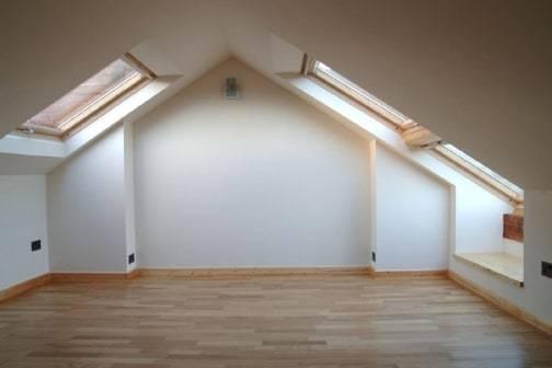 Empty loft conversion