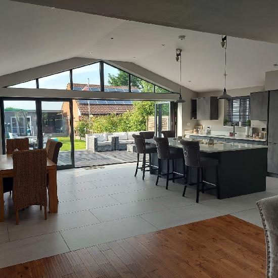 House extension in Birmingham